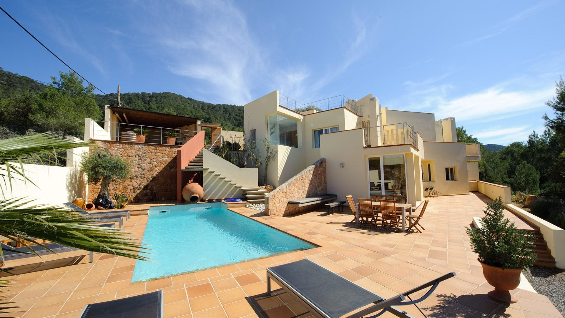 Villa Ganzaya, Rental in Ibiza