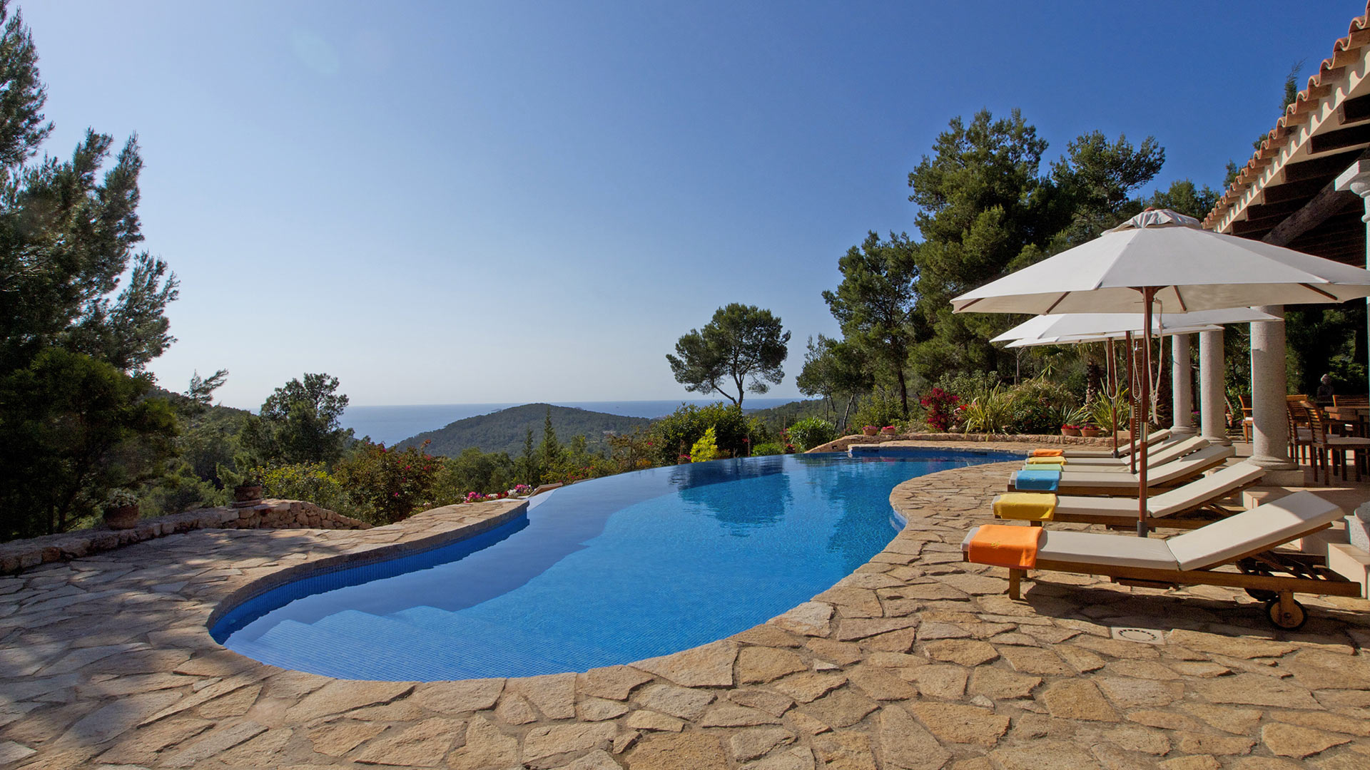 Villa Can Coll Sa Creu, Rental in Ibiza