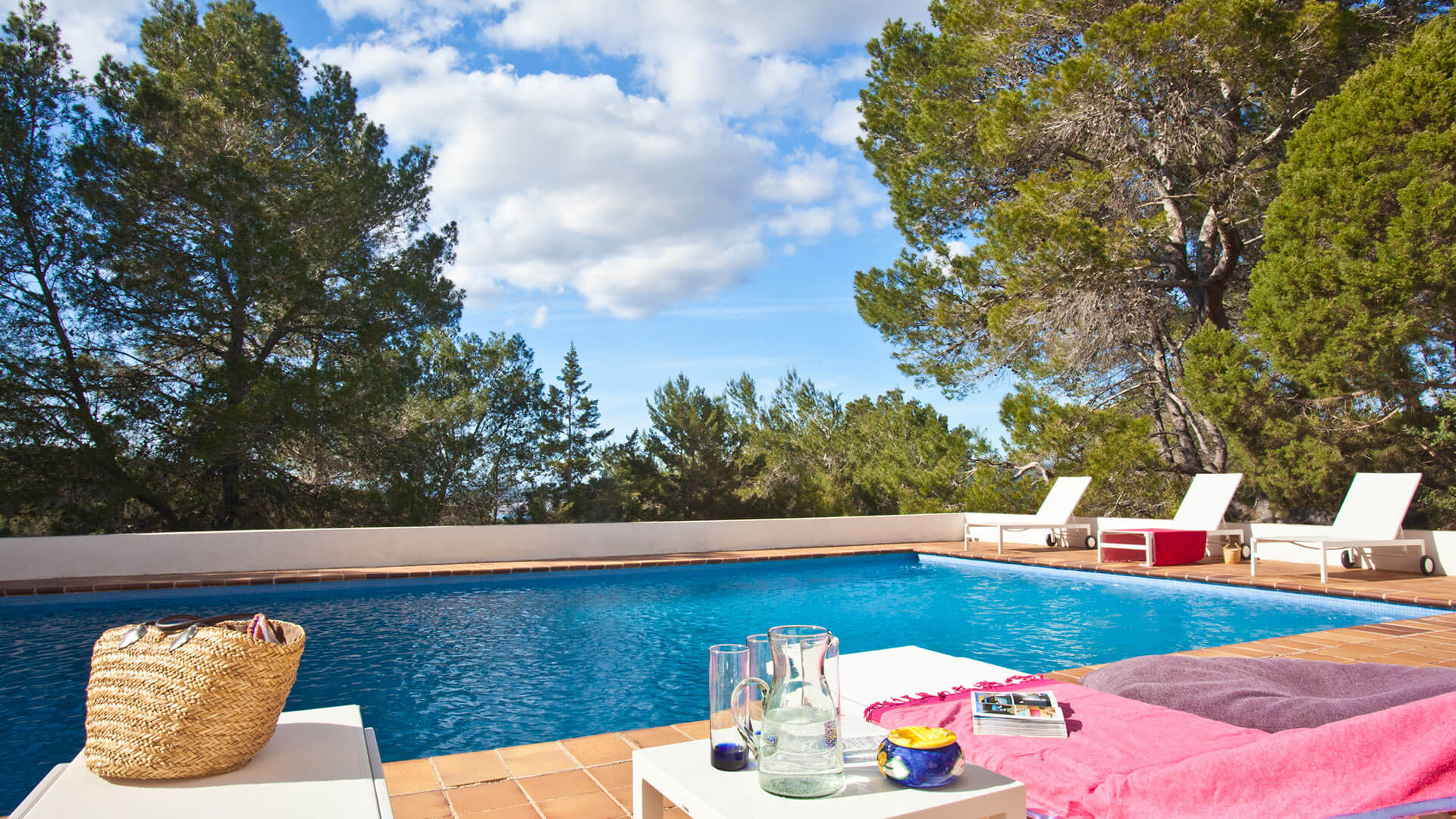 Villa Blue Montain, Rental in Ibiza