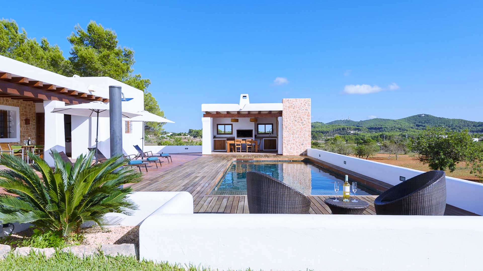 Villa Dalt Fruitera, Rental in Ibiza