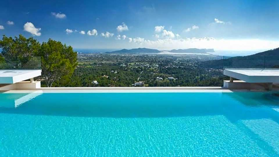 Villa Salinas hill, Rental in Ibiza