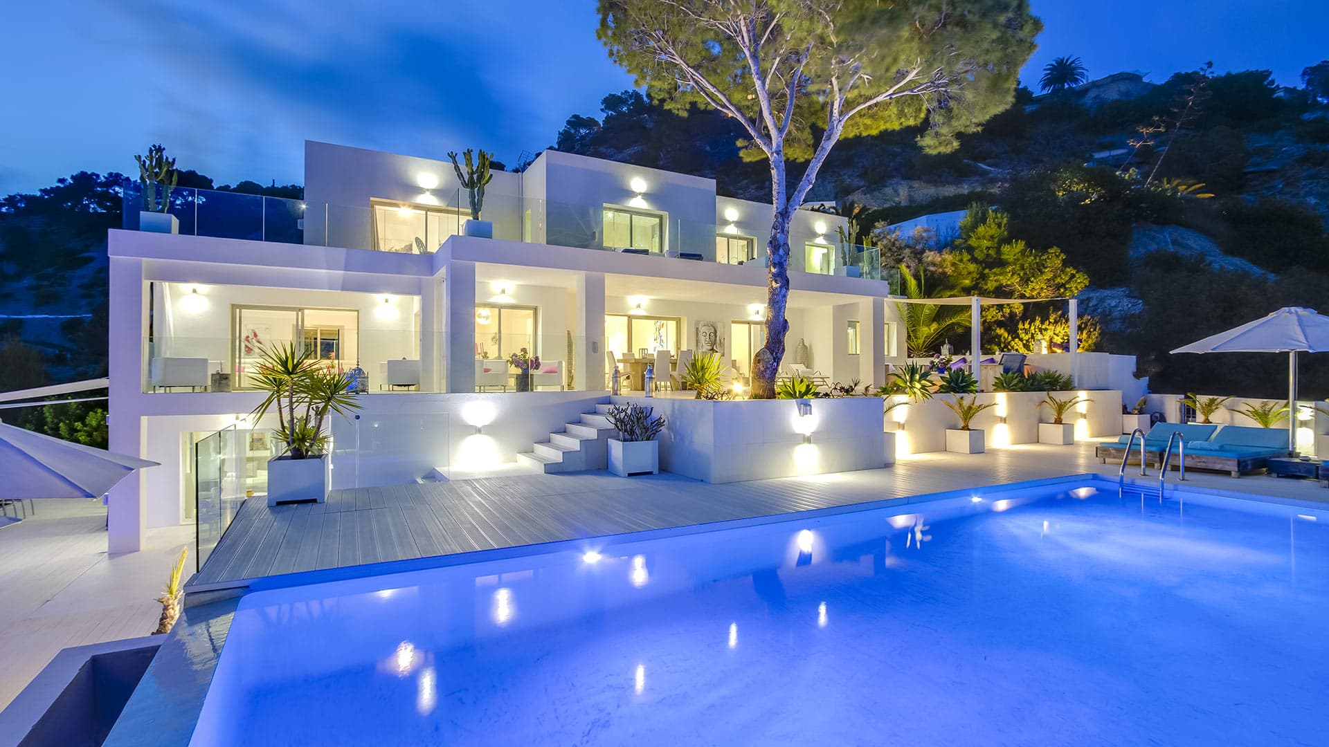 Villa Villa White Pearl, Rental in Ibiza