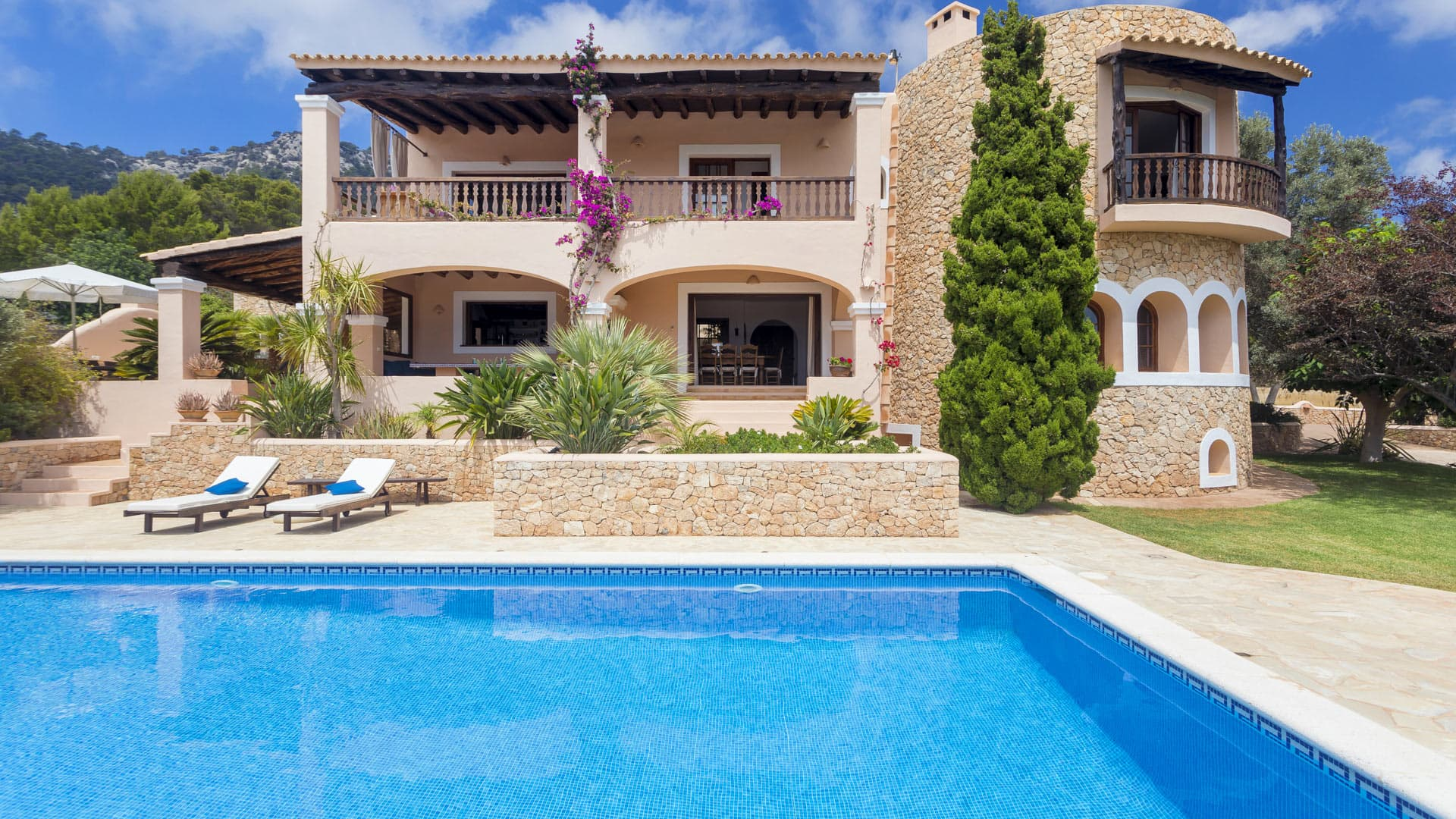 Villa Can Berry, Rental in Ibiza