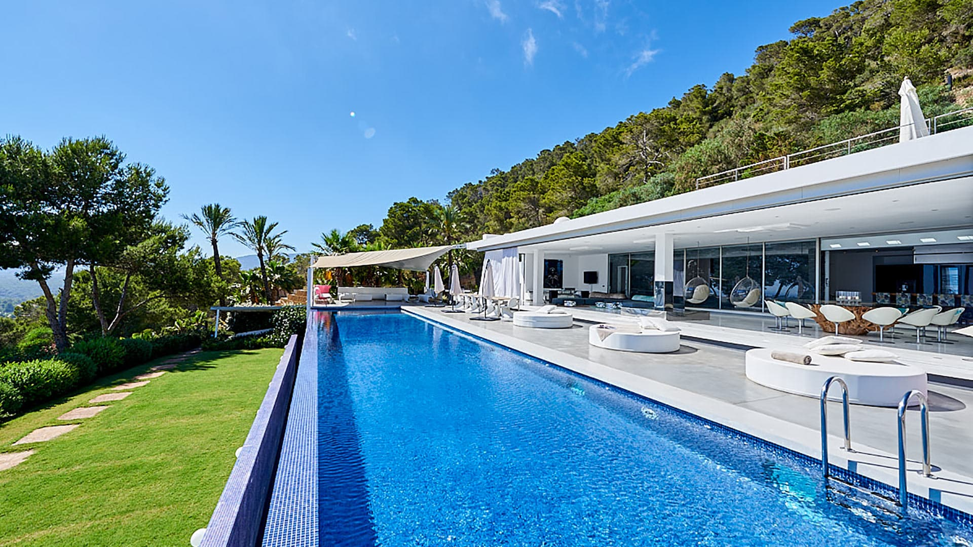 Villa Marlin hill, Location à Ibiza